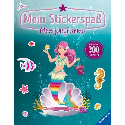 Mein Stickerspaß: Meerjungfrauen