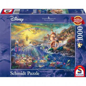 Thomas Kinkade, Disney Kleine Meerjungfrau Arielle. 1000 Teile Puzzle