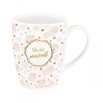 Tasse »Du bist wertvoll«