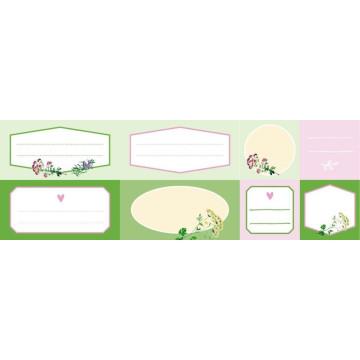 Etiketten für Gläser und Flaschen (Kräuter, Hölker Küchenpapeterie)