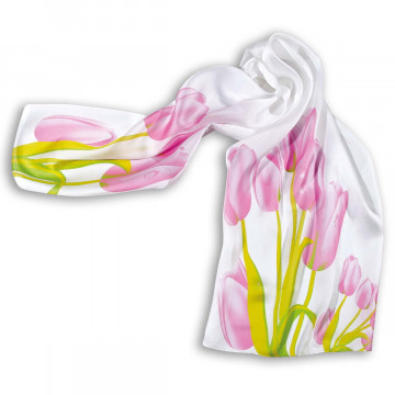 Chiffonschal »Tulpe«