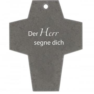 Schieferkreuz Der Herr segne dich (1 Stück)