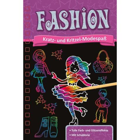 Kratzbuch. Fashion