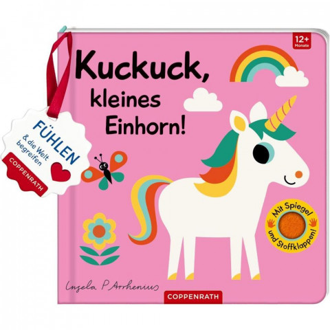 Mein Filz-Fühlbuch: Kuckuck, kleines Einhorn!