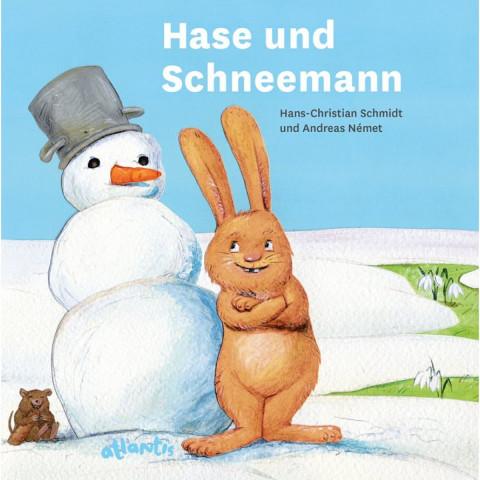 Hase und Schneemann