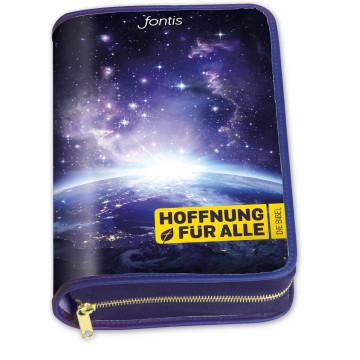 """Hoffnung für alle. Die Bibel - Bibelhülle """"Blue Planet"""""""
