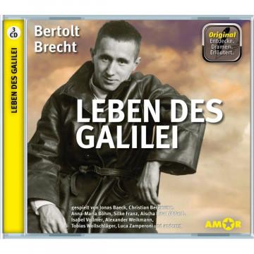 Leben des Galilei, 3 CDs, komplett gespielt im Original, mit zusätzlichen Erläuterungen. Entdecke. D