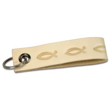 Leder Schlüsselanhänger Fische