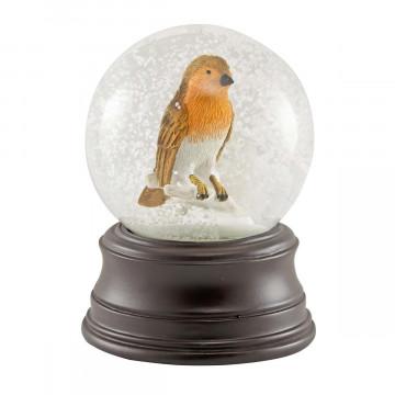 Schneekugel »Rotkehlchen«
