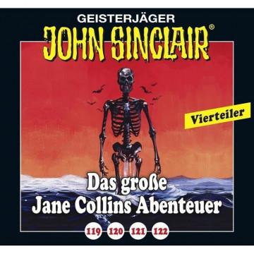 Das große Jane Collins Abenteuer 119-122