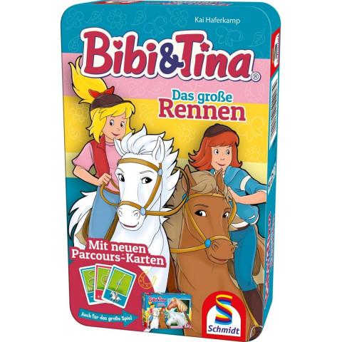 Bibi & Tina, Das große Rennen - Bring-Mich-Mit-Spiel in Metalldose