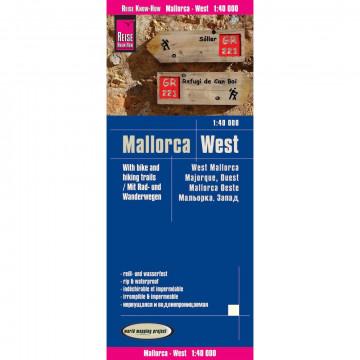 Reise Know-How Rad- und Wanderkarte Mallorca West (1:40.000)