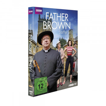 4 DVDs Father Brown Staffel 5
