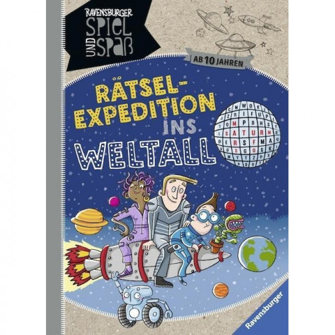 Rätsel-Expedition ins Weltall