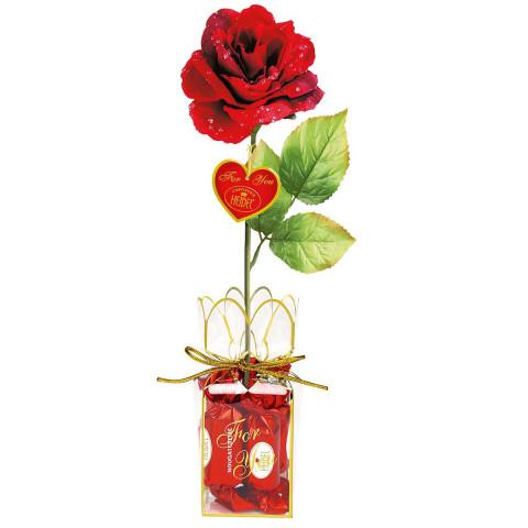 Geschenkset »Rote Rose«
