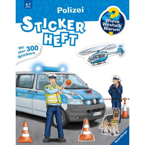Polizei Stickerheft