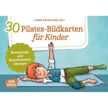 30 Pilates-Bildkarten für Kinder