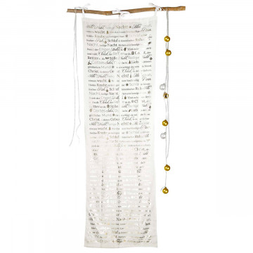 Deko-Vorhang »Stille Nacht, heilige Nacht«