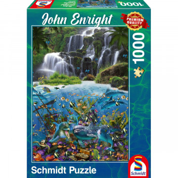 Wasserfall Puzzle 1.000 Teile