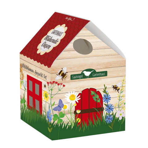 Gartenhaus »Blühende Oasen«