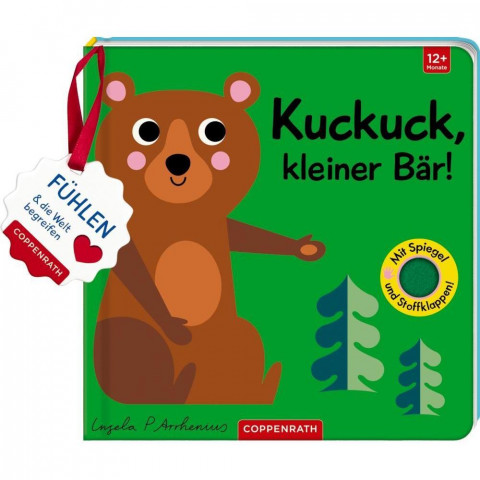 Mein Filz-Fühlbuch: Kuckuck, kleiner Bär!