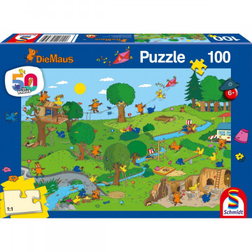 Im Spielpark, 100 Teile Puzzle