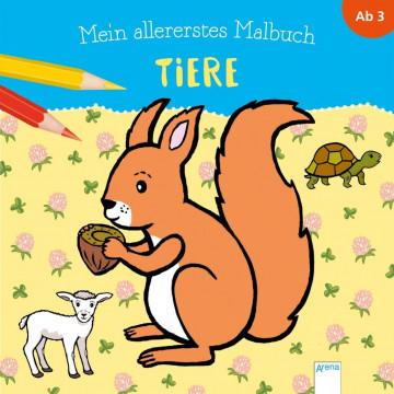 Mein allererstes Malbuch. Tiere