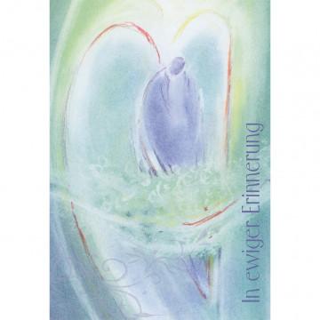 Trauerkarte In erwiger Erinnerung (6 Stück)
