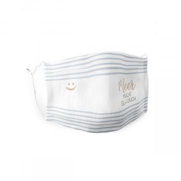 Gesichtsmaske »Meer macht glücklich«