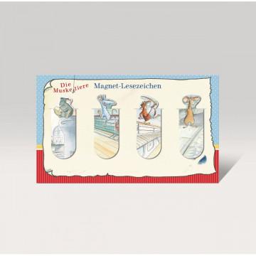 Die Muskeltiere - Magnet-Lesezeichen