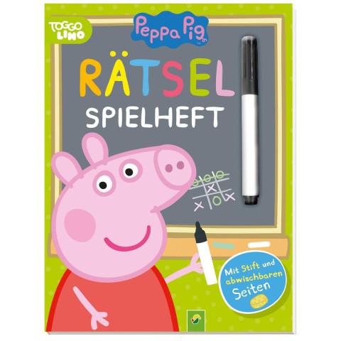 Peppa Pig - Rätsel-Spielheft