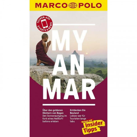 MARCO POLO Reiseführer Myanmar