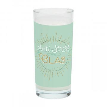 GRUSS & CO 47003 Trinkglas Anti-Stress, Glas, 50 cl