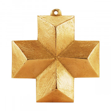 Wandkreuz aus Bronze