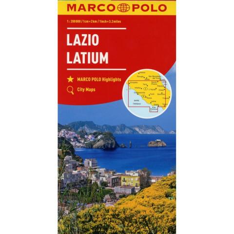 MARCO POLO Karte Italien 09. Latium 1:200 000