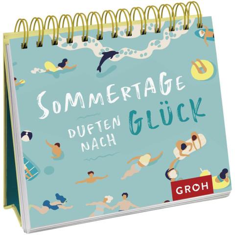Aufsteller »Sommertage duften nach Glück«