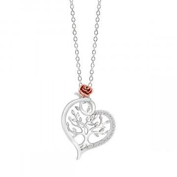 Halskette mit Schuckanhänger »Lebensbaum«