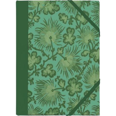 Gefährlich schön Sammelmappe - Motiv Grüne Chrysantheme