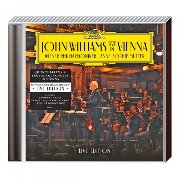 CD »John Williams und Anne Sophie Mutter LIVE«