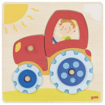 Steckpuzzle Traktor