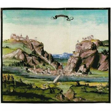 Die Reisebilder Pfalzgraf Ottheinrichs aus den Jahren 1536/37: Kommentarband und Faksimileband