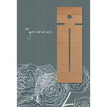 Doppelkarte Sei getröstet (5 Stück)