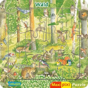 Maxi-Pixi-Puzzle VE 5: Wald (5 Exemplare)
