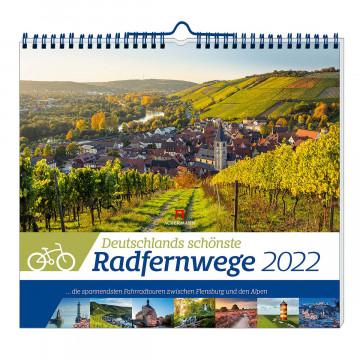 Kalender »Deutschlands schönste Radfernwege 2022«