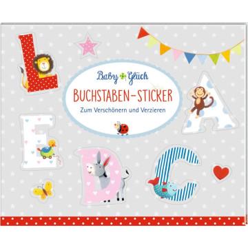 Stickerbuch - BabyGlück - Buchstaben-Sticker