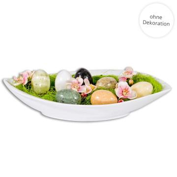 10er-Set: Ostereier aus Marmor