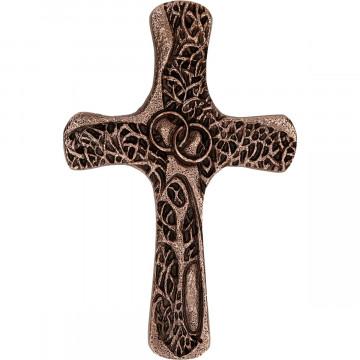 Ehekreuz aus Bronze - Segen sei mit euch (1 Stück)