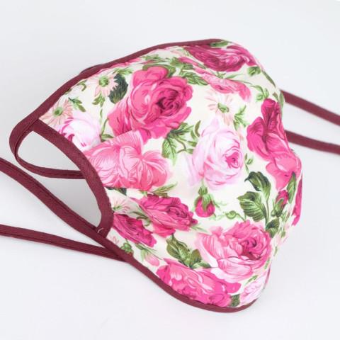 Gesichtsmaske »Rosen und Blümchen«