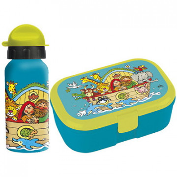 Arche Noah (SET Lunch-Box & Trinkflasche)