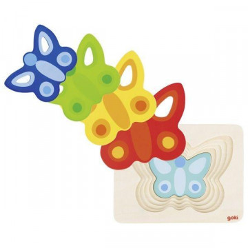 Schichtenpuzzle Schmetterling II